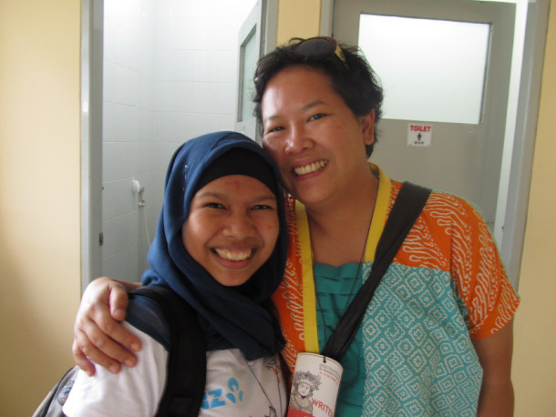 I met Trinity in Ubud Writer and Reader Festival 2011. Goodness, 4 years ago!