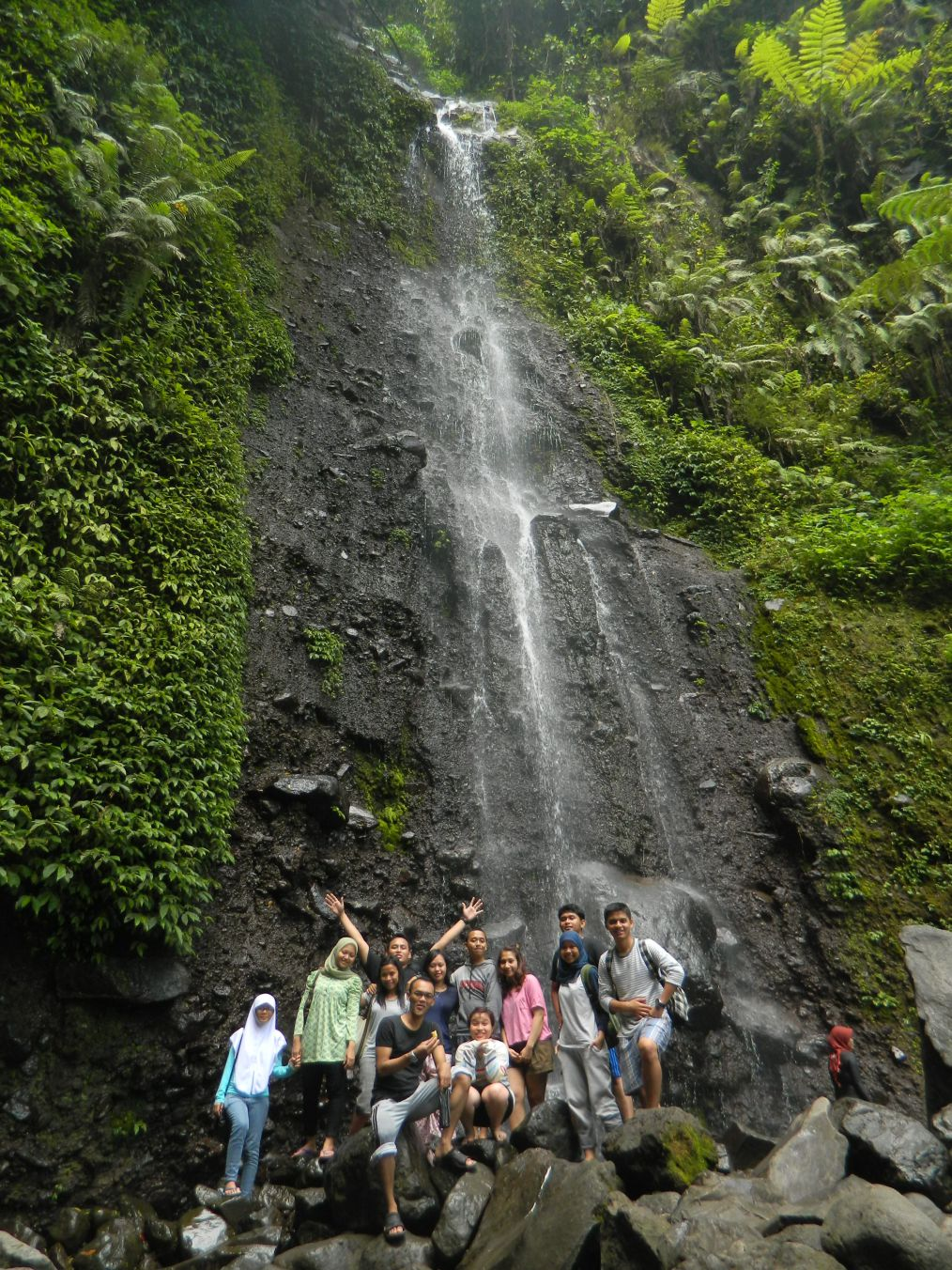 7 years after you will take a short trip to Curug Nangka with them. :D
