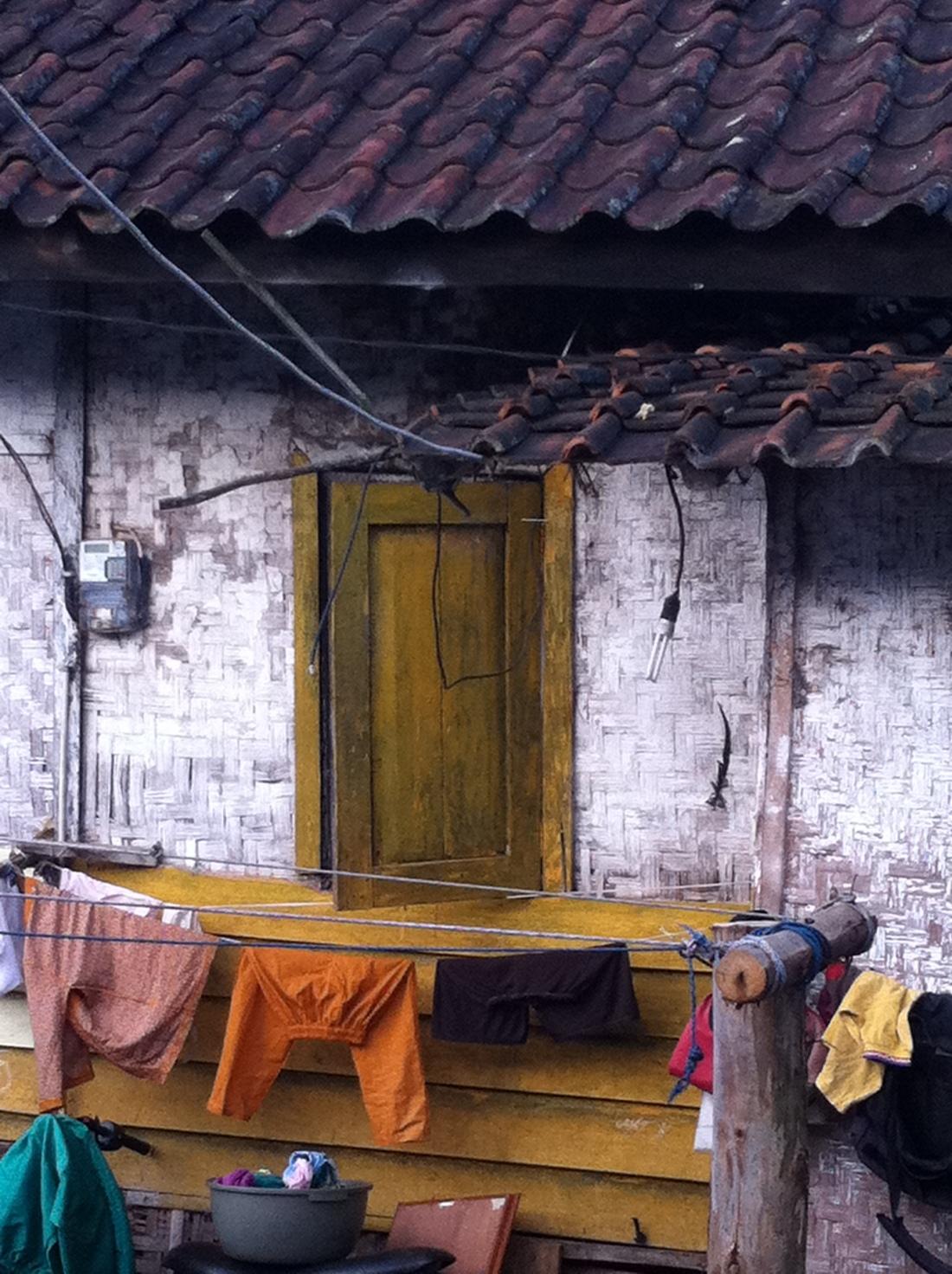 Rumah warga di sekitaran Desa Senep
